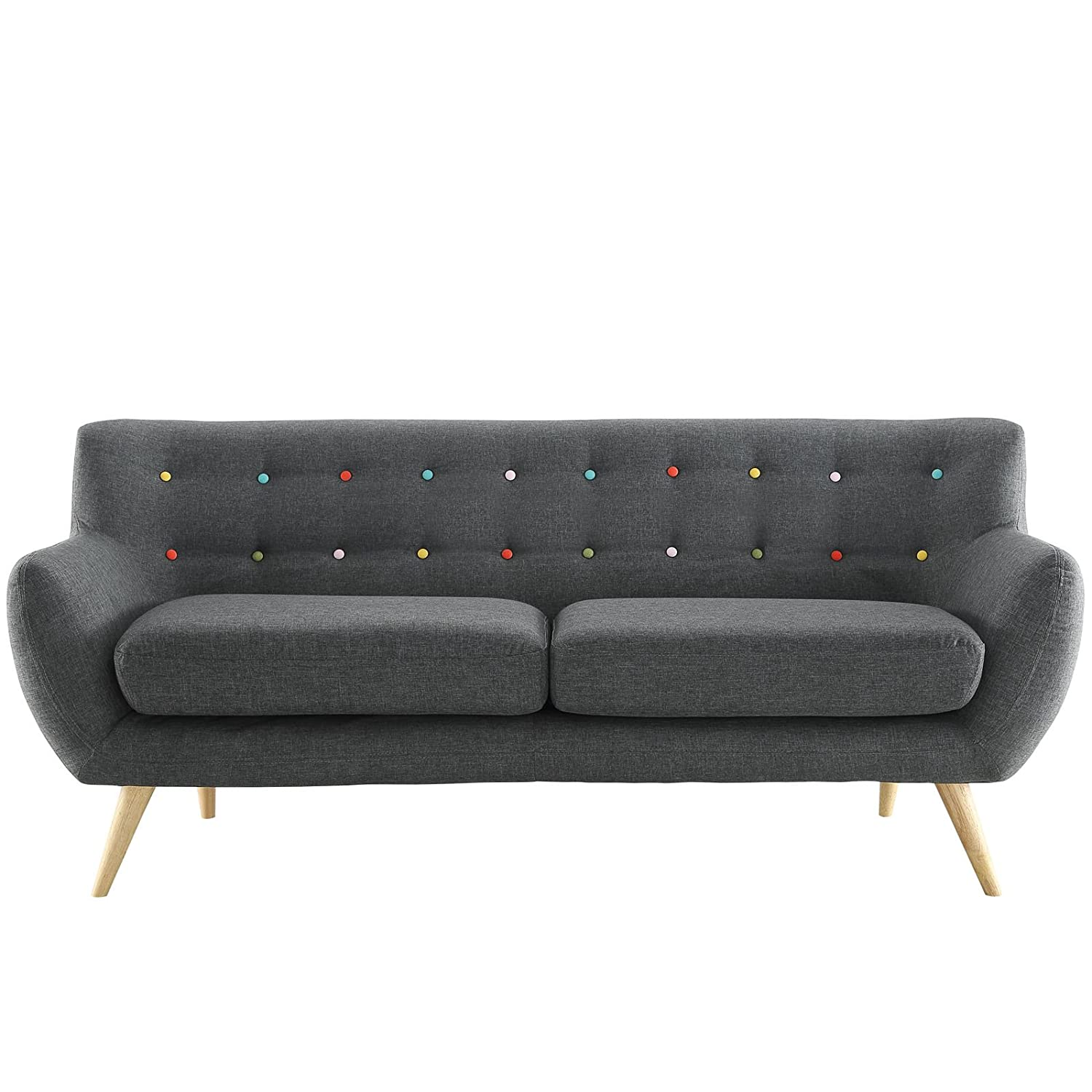 Amazon Modway Remark Mid Century Modern Sofa With Upholstered