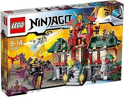 Amazon.com: LEGO Ninjago 70728 Battle for Ninjago City ...