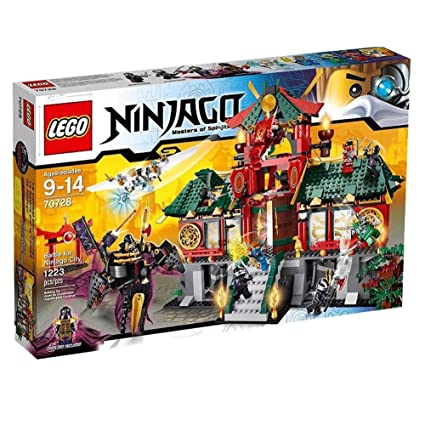Amazoncom Lego Ninjago 70728 Battle For Ninjago City Discontinued