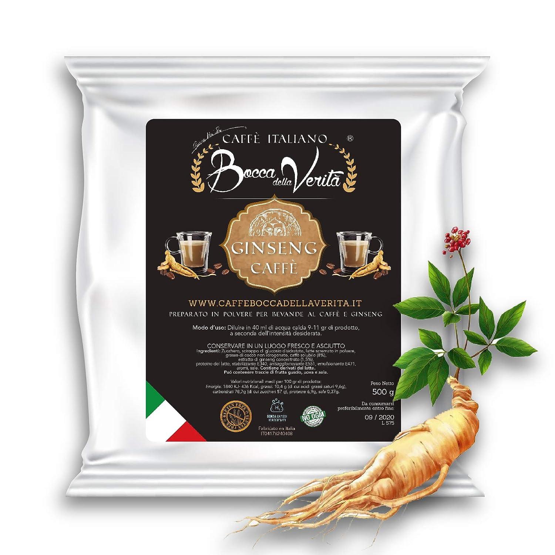 Caffè Italiano Bocca Della Verità GINSENG SOLUBLE - Bolsa de ...