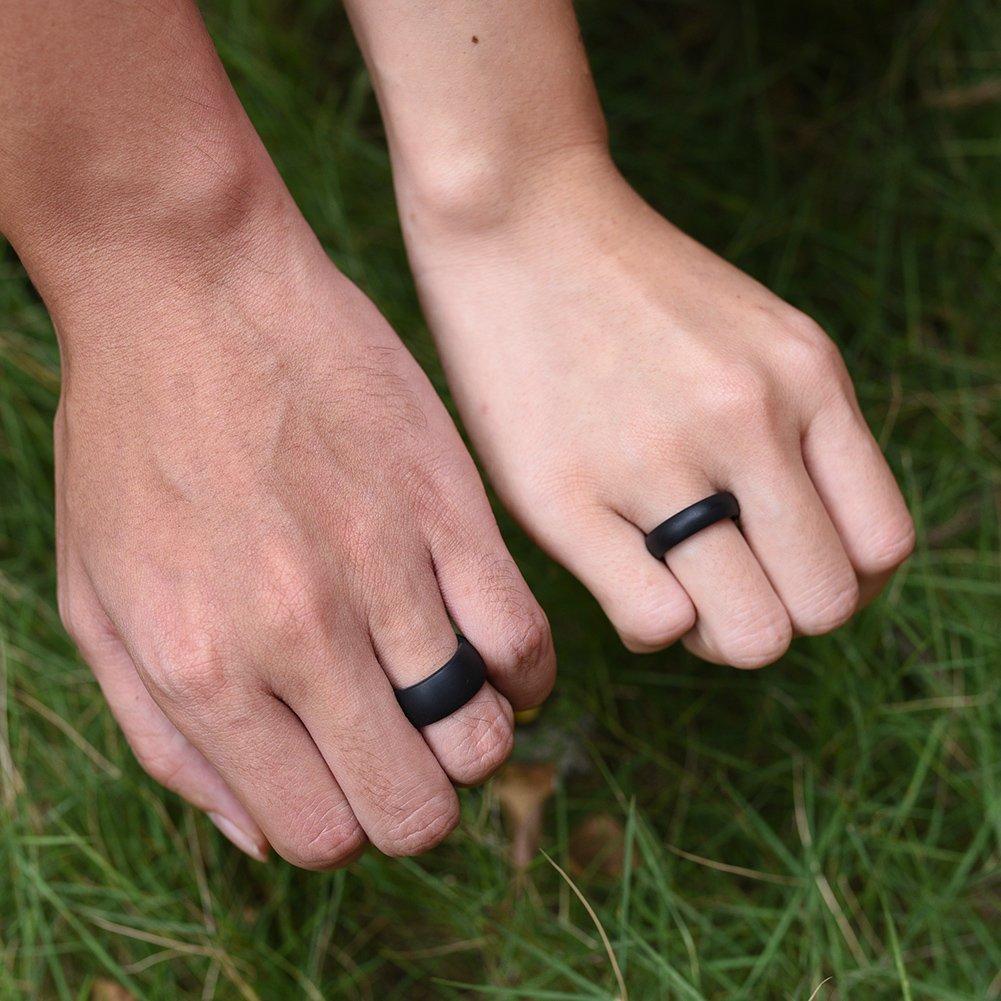 silicone wedding ring Silicone Wedding Ring Smartdoo Wedding Band i 3