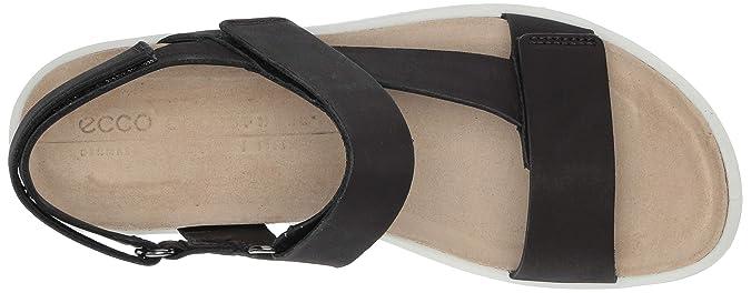 ECCO Women's Corkspheresandal Ankle Strap Sandals: Amazon.co