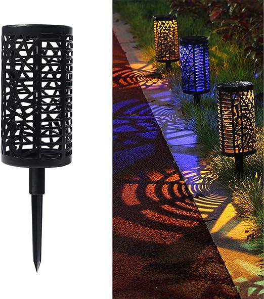 DMH Lámparas Solares para Jardín,5 Piezas Luz Solar Exterior Jardin Luces,Solares Jardin Exterior Decorativas Farolillos Solares Exterior Iluminación de Caminos para Camino Patio Césped Pasillo: Amazon.es: Hogar