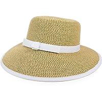 Eric javits Lujo Diseñador Headwear gorro para mujer-Squishee Tapa-Peanut/Color Blanco