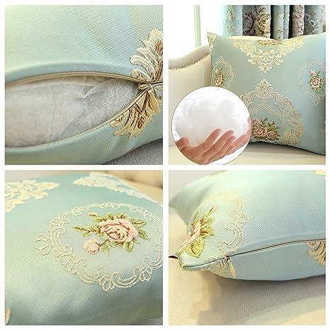 Amazon.com: QUANOVO - Almohada de tres piezas de tejido ...