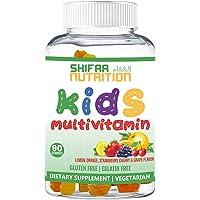 SHIFAA NUTRITION Halal & Vegetarian Gummy Vitamins For kids   13 Vitamins, Minerals & Antioxidants for Children…