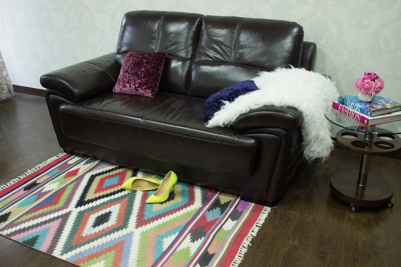 Amazon.com: Handmade Carpet, Indoor Outdoor Area Rug for ...