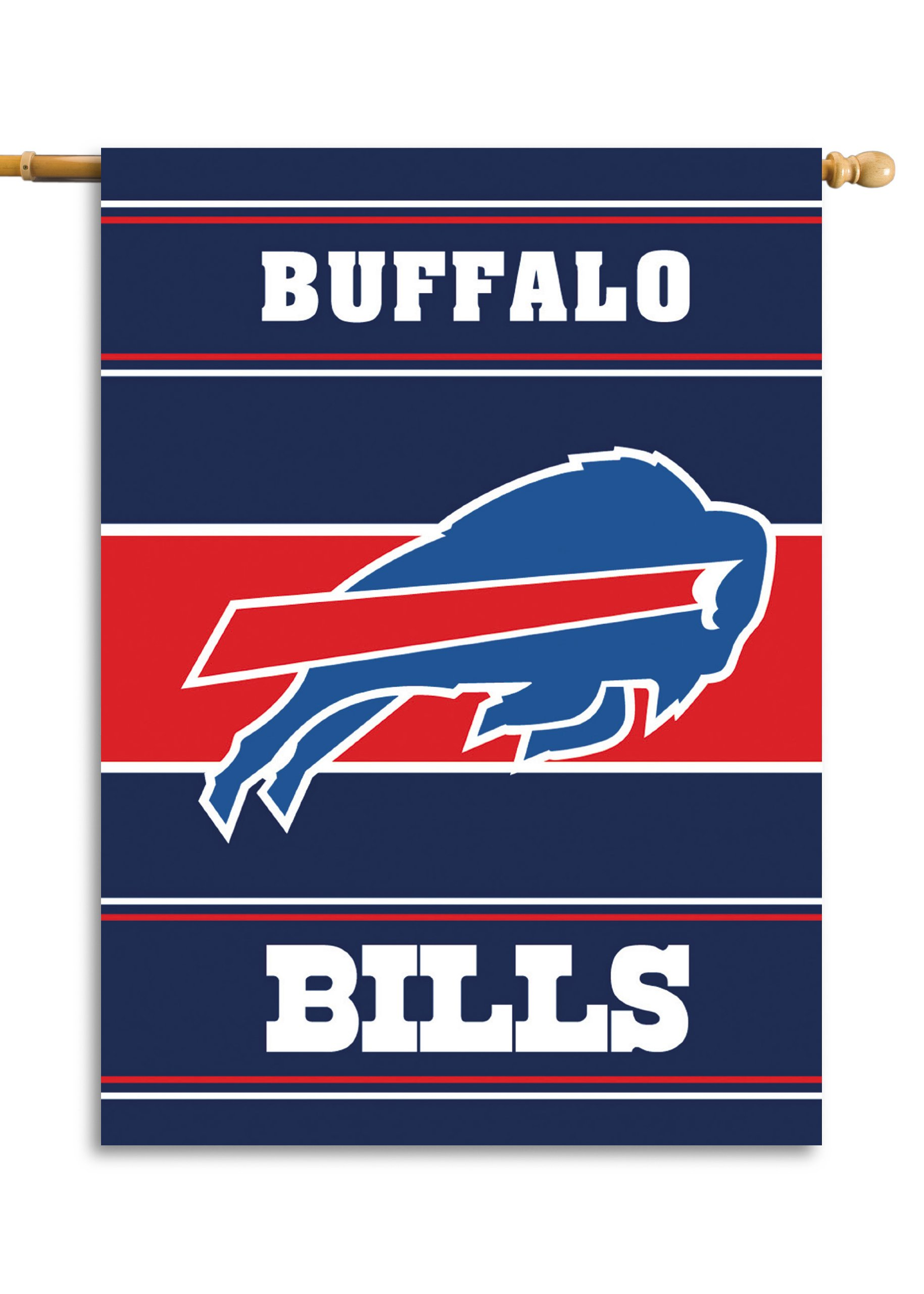 Fremont Die NFL Buffalo Bills 2-Sided 28-by-40-Inch House Banner