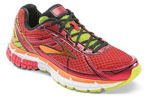 Brooks Zapatillas Deportivas Kids Adrenaline GTS 15 Rojo/Naranja/Lima EU 33.5 (US 2): Amazon.es: Zapatos y complementos