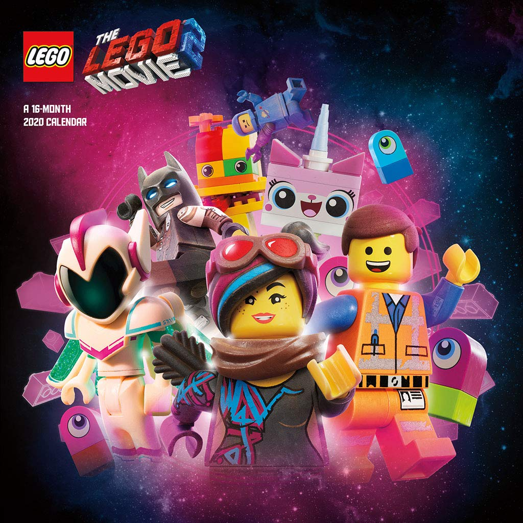 Lego June 2021 Calendar The LEGO Movie 2 2020 Wall Calendar: Trends International