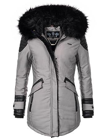 Marikoo Damen Winter Jacke Kurzmantel Zauberfee (vegan hergestellt) 5  Farben XS-XXL  Amazon.de  Bekleidung 1128b53b14