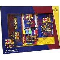 C Y P Set de Papeleria FC Barcelona 20 Piezas 38x3x28,5 cm, (GS-