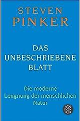 Das unbeschriebene Blatt: Die moderne Leugnung der menschlichen Natur (German Edition)