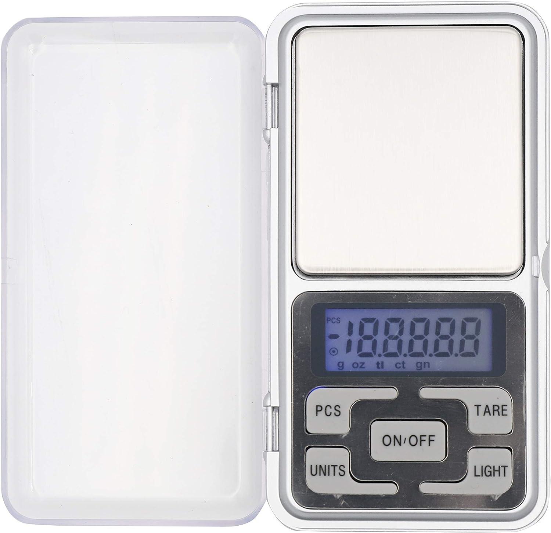 SANDA Mini Bascula de precisión - 0.1g a 500g