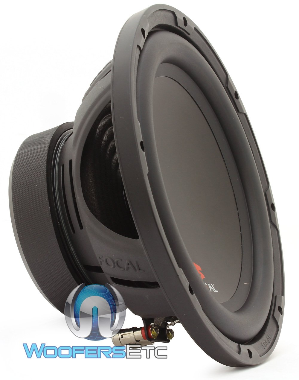SUB P25 - Focal 10'' 200W RMS 400W Max Single 4-Ohm Subwoofer