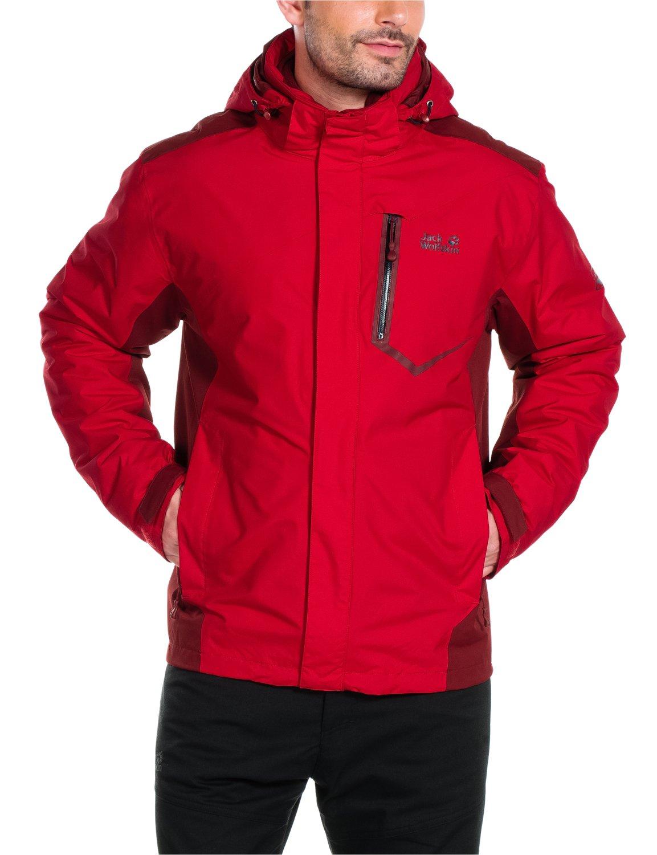 Ack wolfskin herren 3in1 jacke prisma jacket