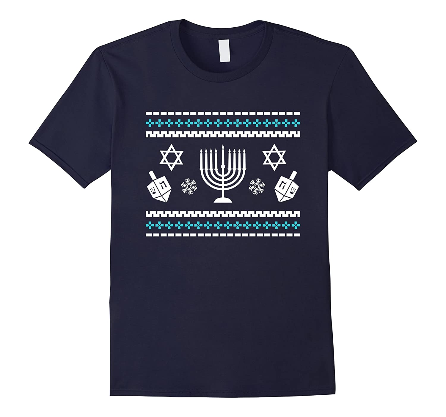 Hanukkah Ugly Sweater T-Shirt, Funny Gift For Men Or Women-CL