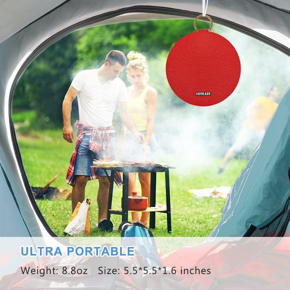 Stereo Pairing for Outdoor,Travel,Shower,Beach,Party AOMAIS Ball Bluetooth Speakers Wireless Portable Bluetooth Speaker IPX7 Waterproof RED 15W Superior Surround Sound with DSP