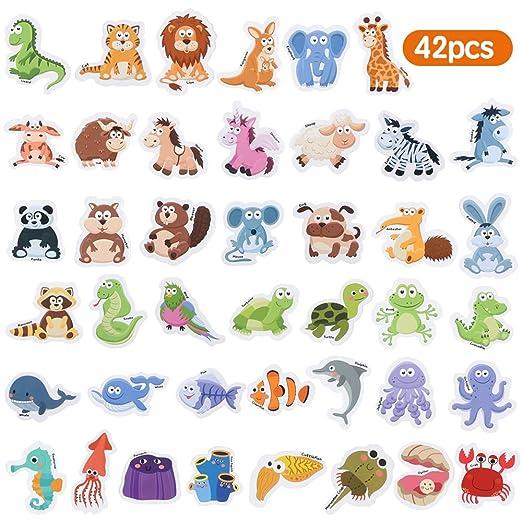 Baobë Animales magnéticos ,Imanes Nevera para niños,Animales ...
