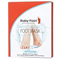 Baby Foot Mask - 1 Pack Unscented Moisturizer