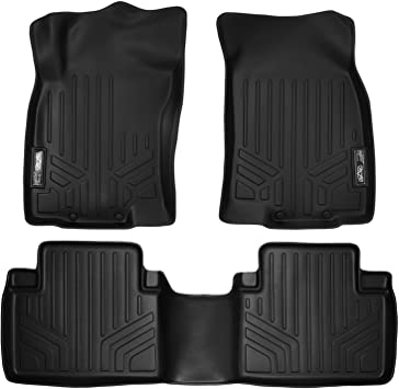 Car Floor Mats Only Fit for Nissan Rogue 5 Seat 2017-2018 All Weather Car Mats