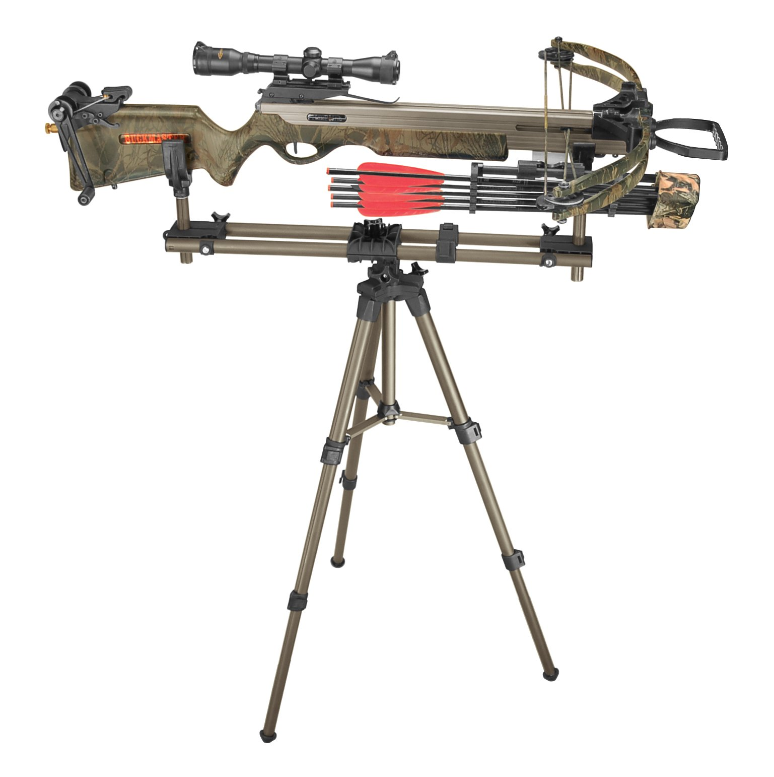 Caldwell DeadShot FieldPod Adjustable Ambidextrous Rifle Shooting Rest for Outdoor Range and Hunting by Caldwell (Image #5)