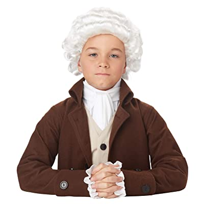 California Costumes Colonial Man Wig Child Costume, Acc: Toys & Games