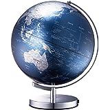 ナカバヤシ 地球儀 ライティングアース 光る地球型オブジェ 球径30cm ブルー LE-30-BL