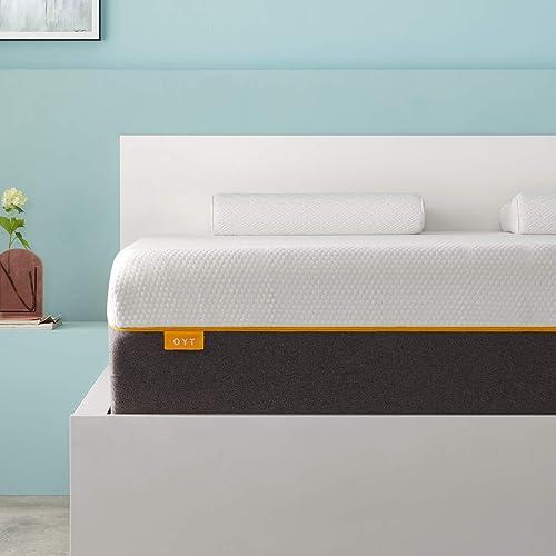 Queen Size Mattress,OYT 10″ Inch Gel Memory Foam Queen Bed Mattre