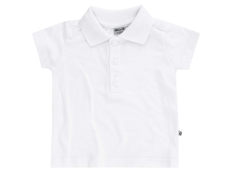 JACKY Polo-Shirt Kurzarm Classic Boy, Blanco, 92 (Talla del ...