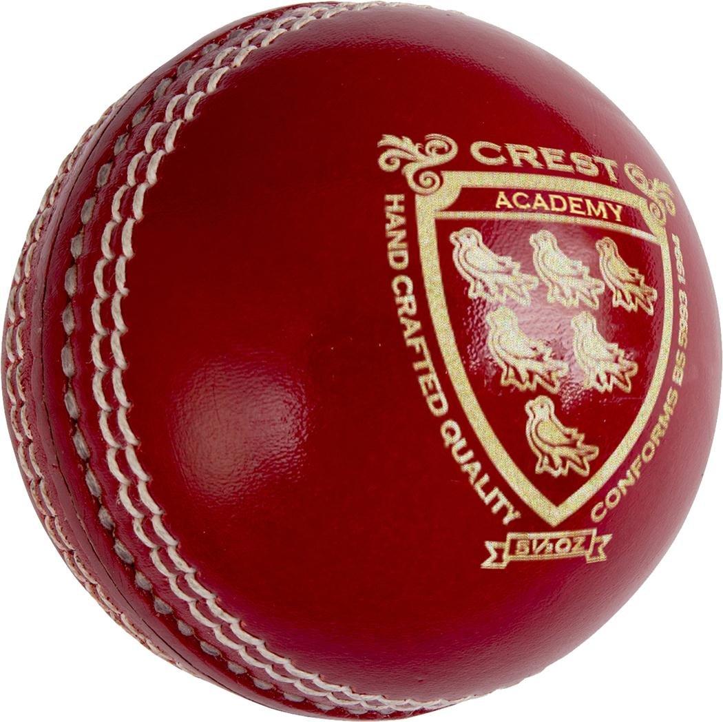 Grey-nicolls Crest Academy de cricket Sports cousus à la machine avec boule rouge Only Cricket