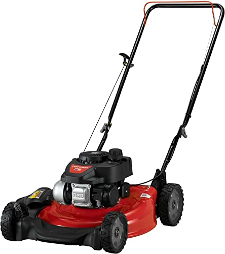 Craftsman 11P-A0SD791 21 in. Lawn Mower-140cc OHV Engine Push Mower for Small to Medium Yards, Red