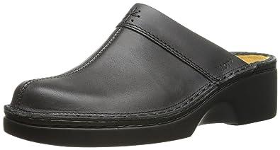 Naot Women's Darma Mule, Black Matte Leather, ...