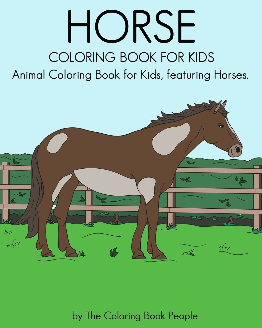 Horse Coloring Book for Kids: Animal Coloring Book for Kids ...