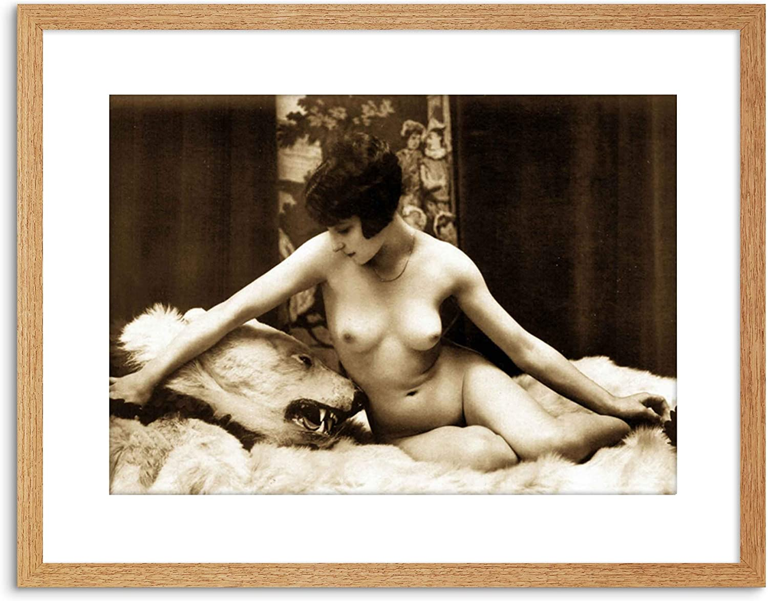 black and white adult photographs