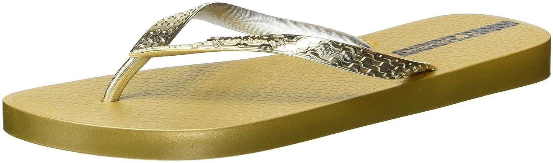 Ipanema Glam Frauen Flip-Flops/Sandalen  38 EU|Gold