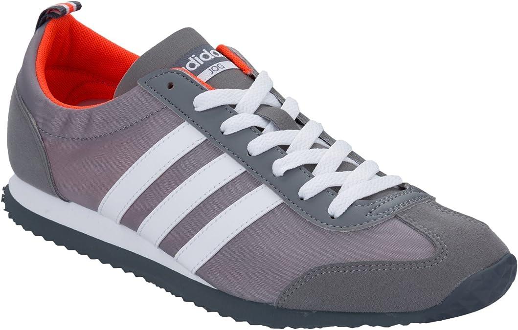 adidas Vs Jog - Zapatillas de running para hombre, gris, 9 UK: Amazon.es: Deportes y aire libre