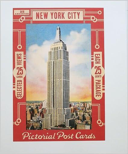 Art Deco Poster New York.Amazon Com New York Art Deco Poster New York City Pictorial Post