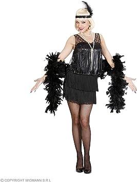 WIDMANN Disfraz para Mujer Charleston, Talla M: Amazon.es ...