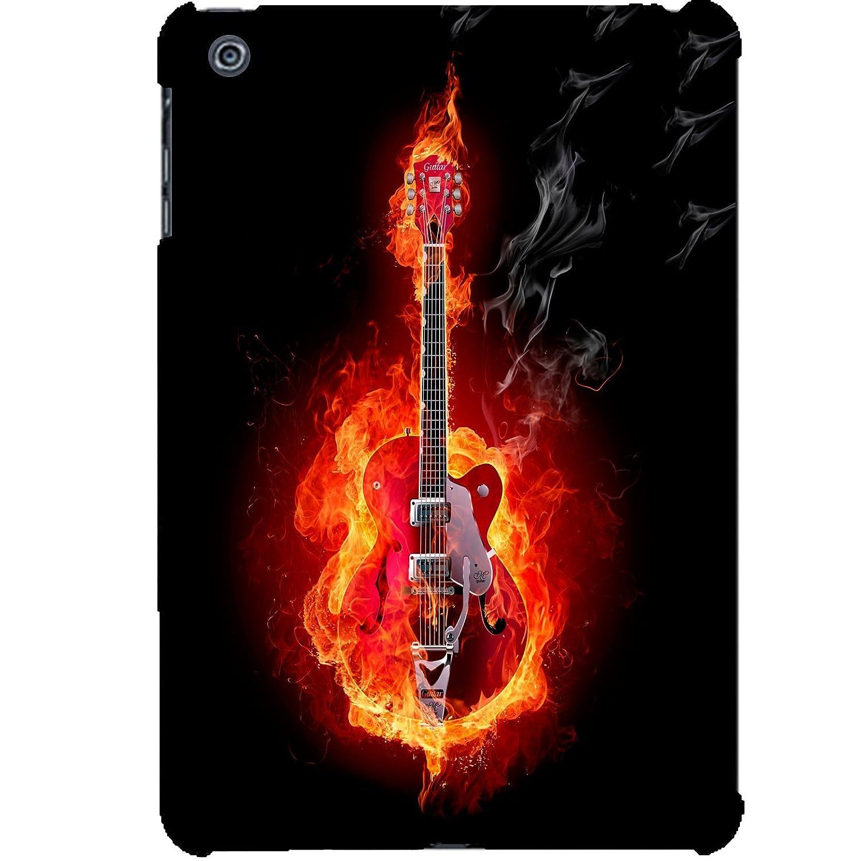 Carcasa Apple Ipad Mini 2 – 3 guitarra en fuego: Amazon.es ...