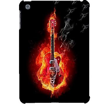 Carcasa Apple Ipad Mini 2 – 3 guitarra en fuego