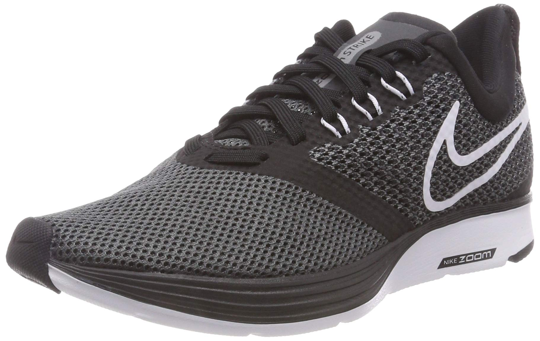 Nike Womens Zoom Strike Black/White DRK Gry/Anthracite Size 6