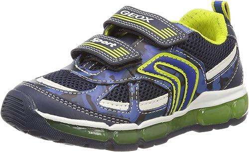 GEOX Android Kinder Sneaker Low Schwarz, Größenauswahl:32