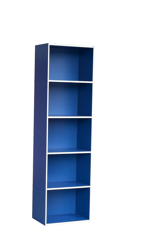 ホームにOfficeソリューションSimplicity本棚 58-Inch ブルー AM05BLU_R B00PK34L8O