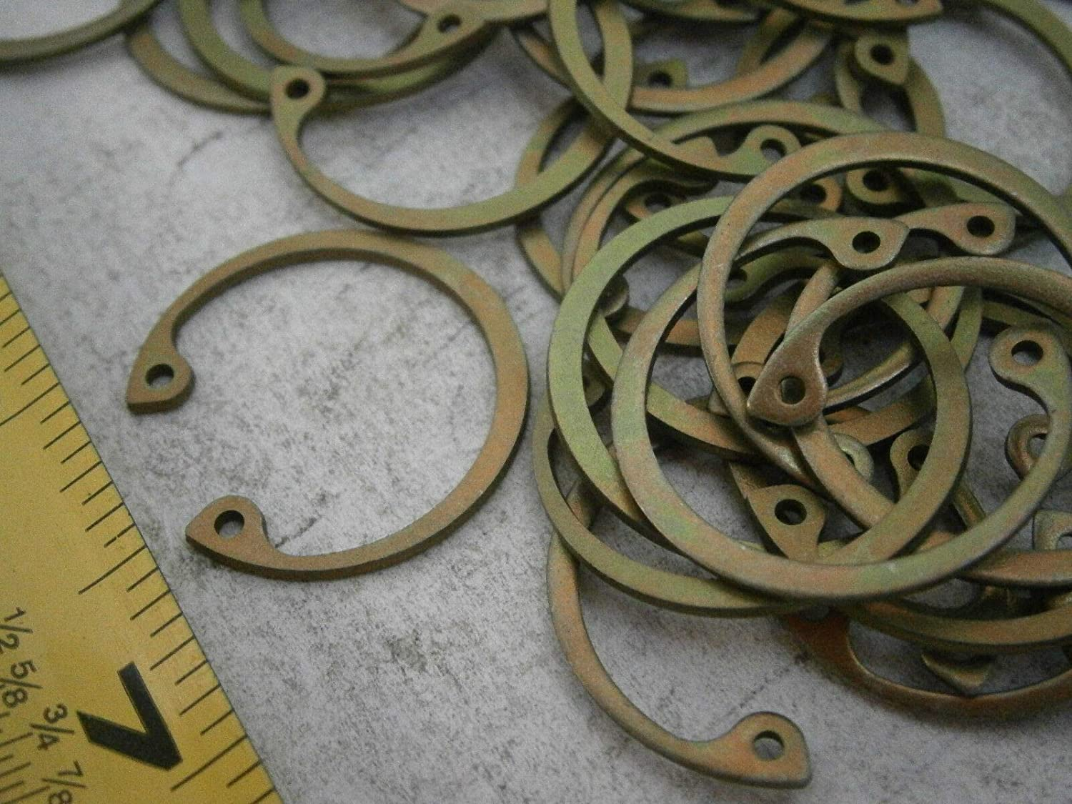Quality Assurance from JumpingBolt 20#4512 N5001-87-ZD Retaining Rings Bowed for .875 Housing Steel LOT of