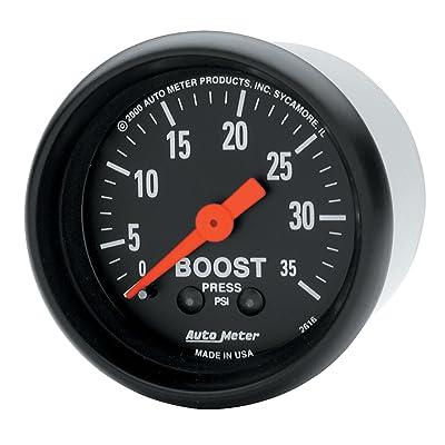 AUTO METER 2616 Boost Gauge, 2.3125 in.: Automotive