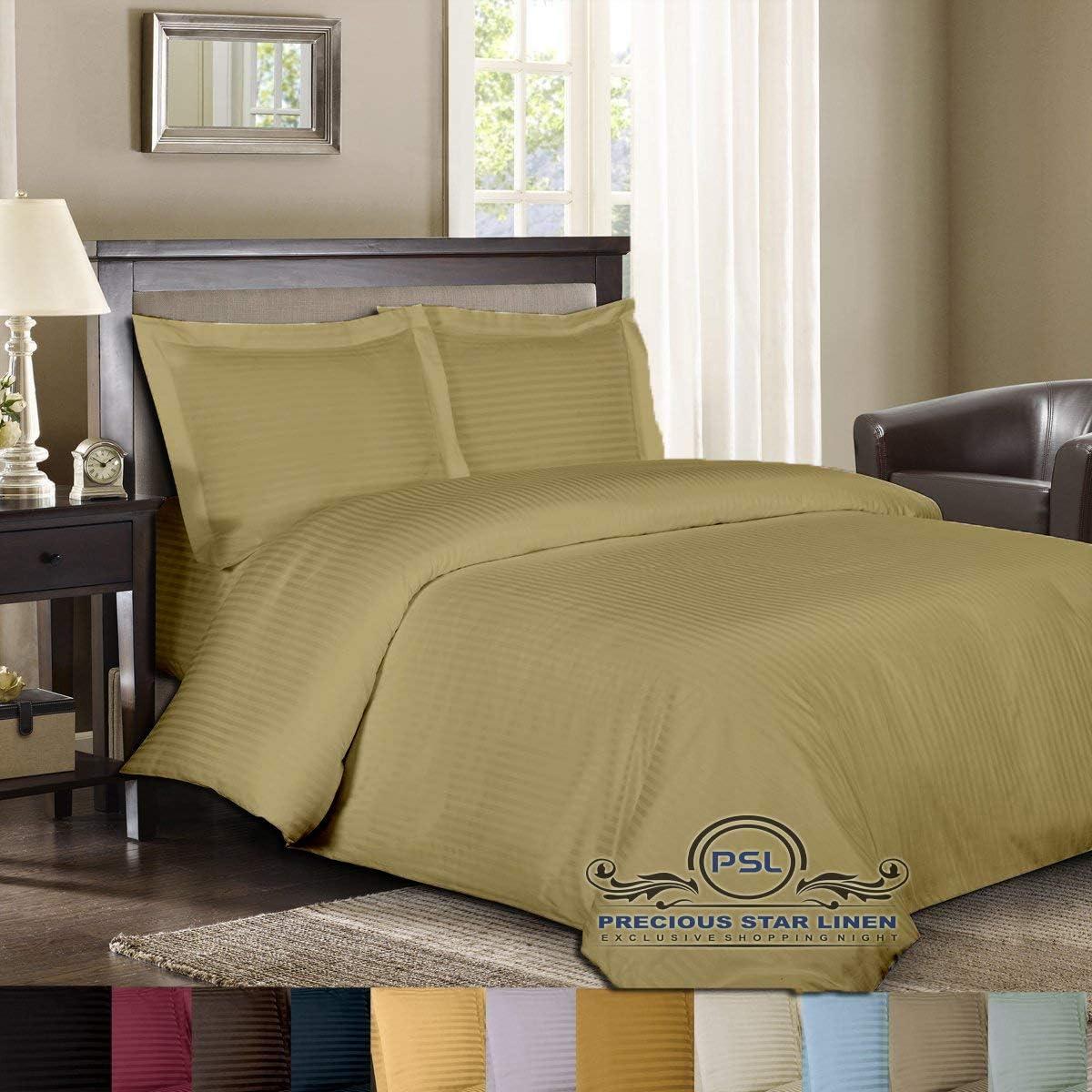 Precious Star Linen Hotel Quality Overseas parallel import regular item 800 Thread 3pc Duvet Count Max 60% OFF Cov