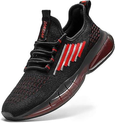 Damyuan Zapatillas de Tenis para Hombre Casual Running Tenis Sneakers Deportivas Gimnasio Gym Trail Fitness Sport Zapatos Plataforma Trekking Calzado: Amazon.es: Zapatos y complementos