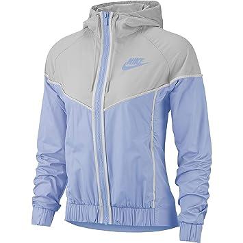 Amazon.com: Nike - Cortavientos para mujer, tejido con ...