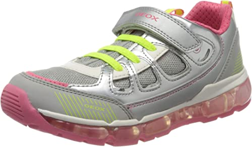 desconcertado atómico tos  Geox Boy's Girls' J Android C Low-Top Sneakers Child: Amazon.co.uk: Shoes &  Bags